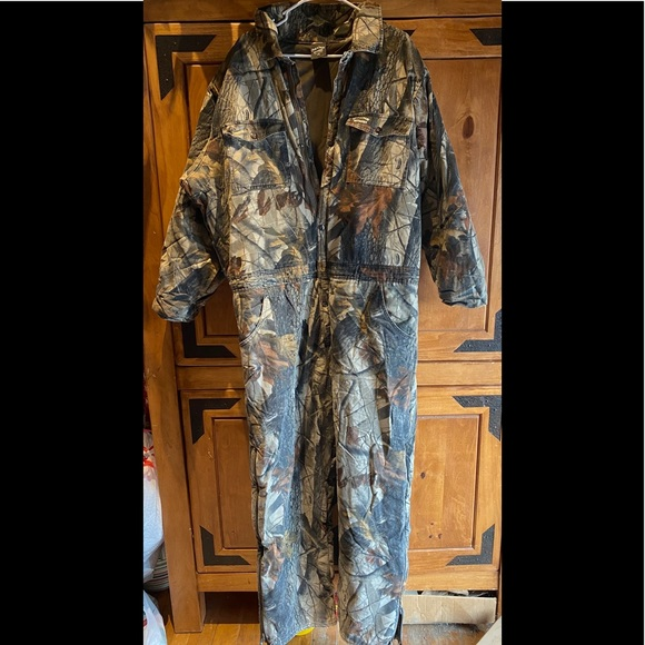Hunting/Camouflage/Camo Weather Resistant Jumpsuit